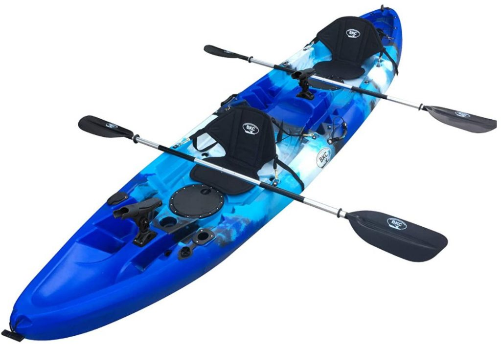 BKC TK219 12.2′ Tandem Fishing Kayak