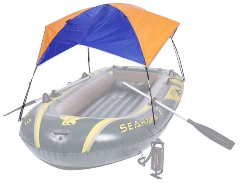 HOUSE Awning Canopy Bimini Top Sun Shade for Inflatable Kayak Boat