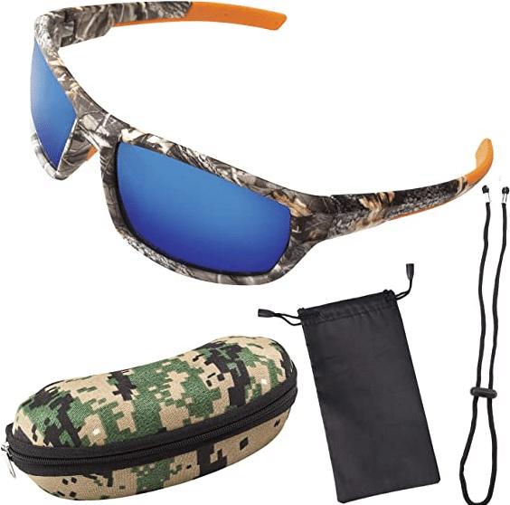 Polarized Camouflage Sport Fishing Sunglasses